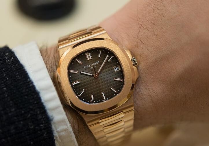 Luxury Swiss Patek Philippe Replica Nautilus 5711R In Rose Gold