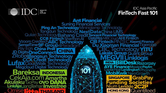 Payments and Lending FinTechs Dominate IDC Financial Insights' 101 Fast Growing Asia/Pacific FinTechs in 2020